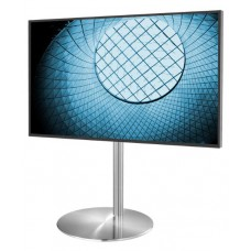 Stainless steel floor free stand for TV and Signage (200x200)